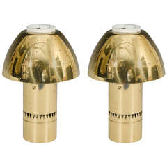 Pair of Modernist Table Lamps by Hans Agne Jakobsson