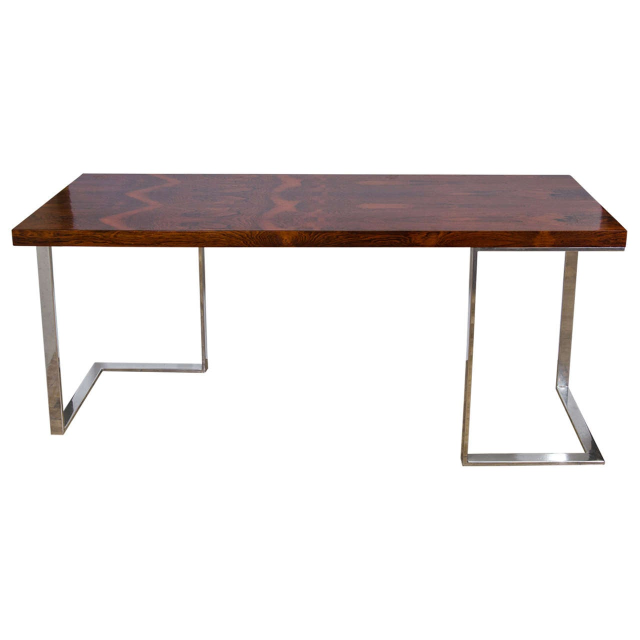 Milo Baughman Console Tables at 1stdibs