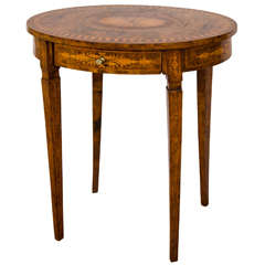 Very Fine Quality 19th Century Marquetry Inlaid English Table