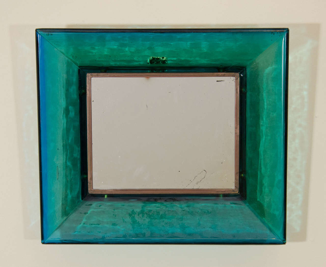 A midcentury carlo scarpa for venini glass frame wall mirror for a midcentury carlo scarpa for venini glass frame wall mirror 2 amipublicfo Choice Image