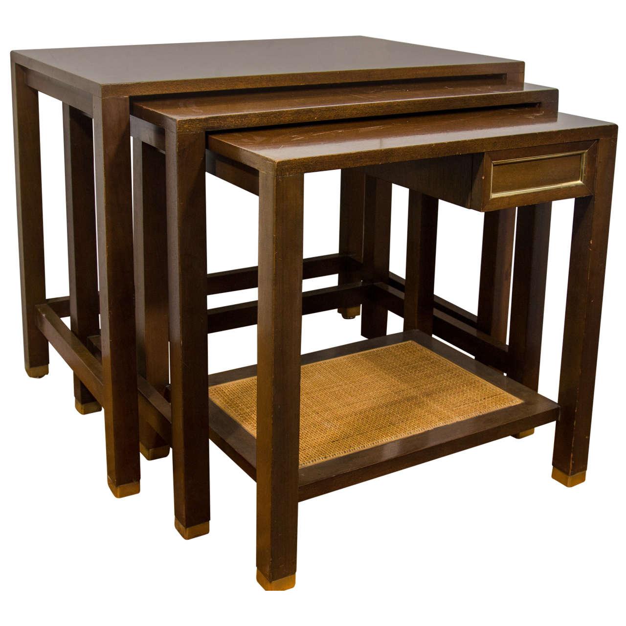 Midcentury set of harvey probber nesting tables for sale at 1stdibs midcentury set of harvey probber nesting tables for sale watchthetrailerfo