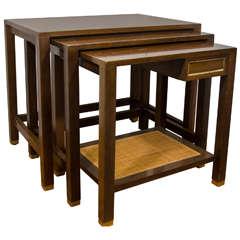 Midcentury Set of Harvey Probber Nesting Tables