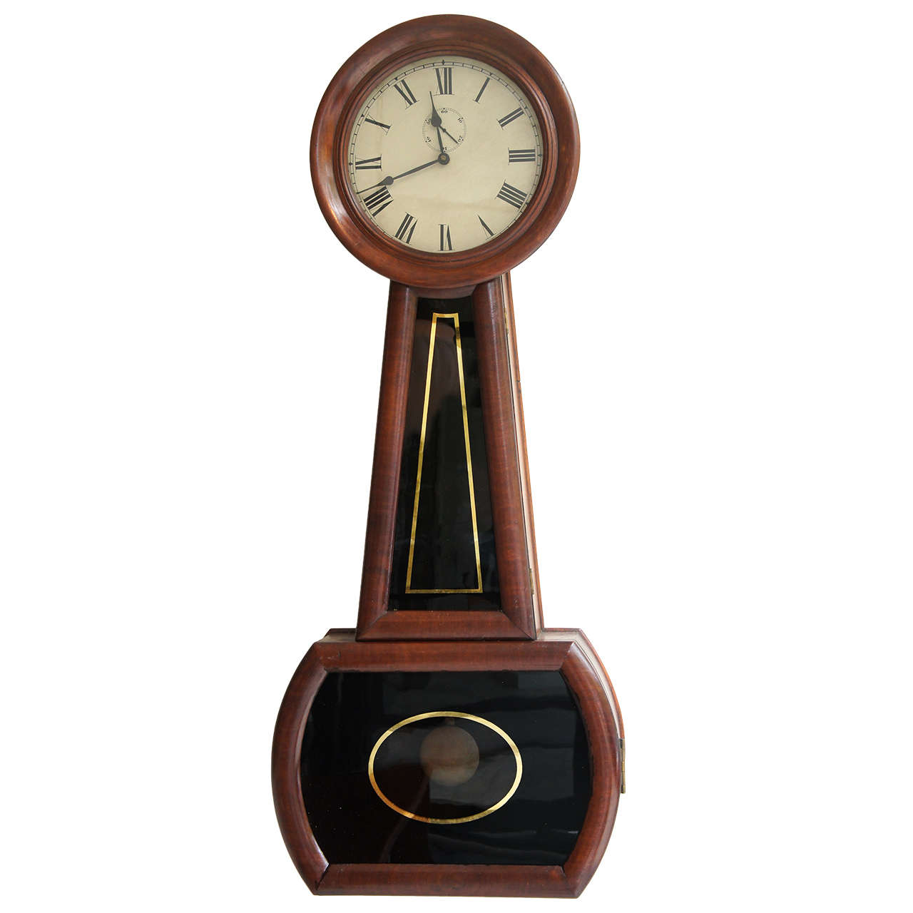 E Howard And Co Banjo Clock At 1stdibs