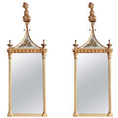 Pair of Federal Pier Mirrors