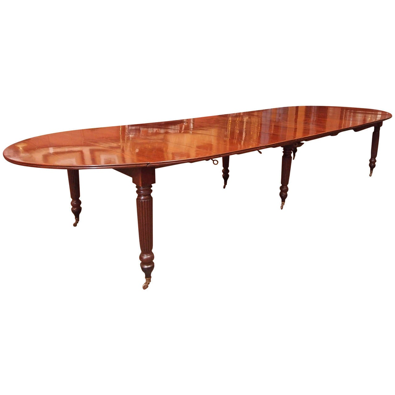 french louis philippe mahogany dining table at 1stdibs