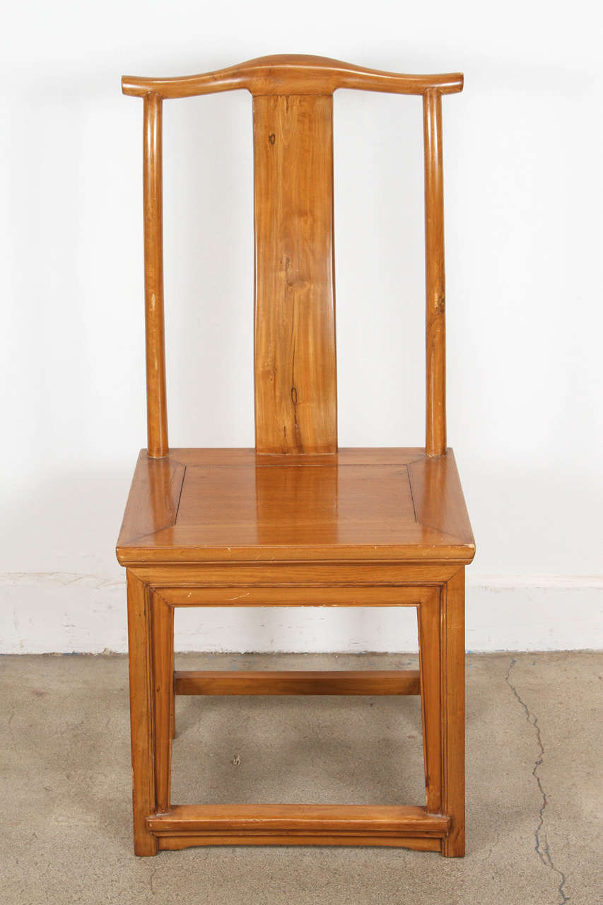 set of eight chinese dining room chairs in ming style for
