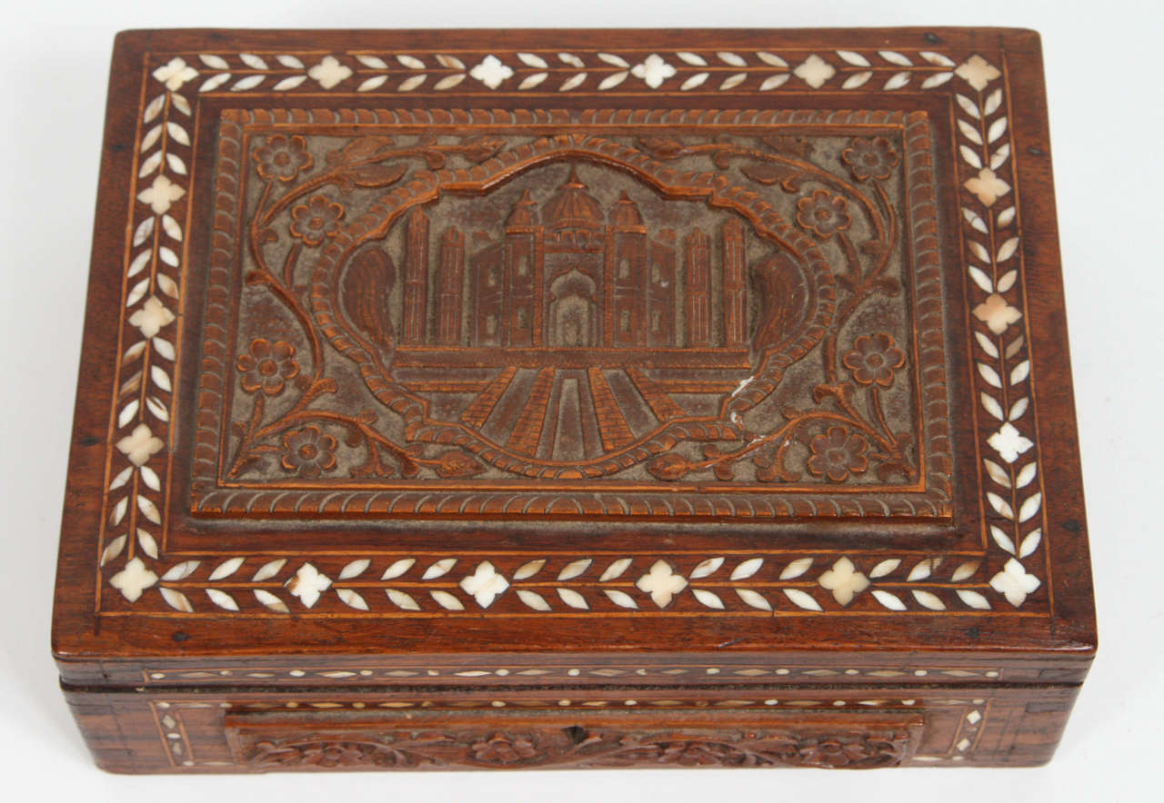 Anglo Raj 19th Century Anglo-Indian Box For Sale