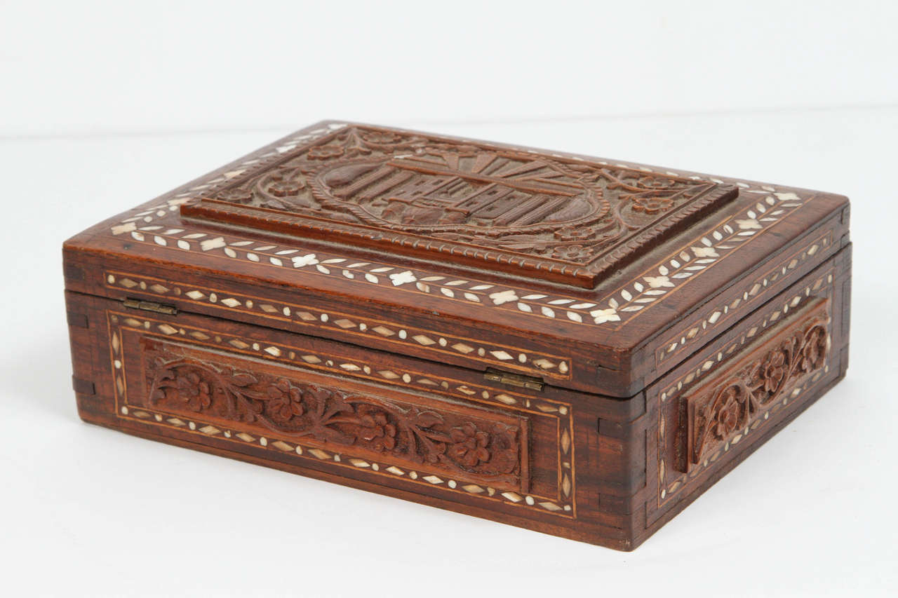 19th Century Anglo-Indian Box For Sale 1