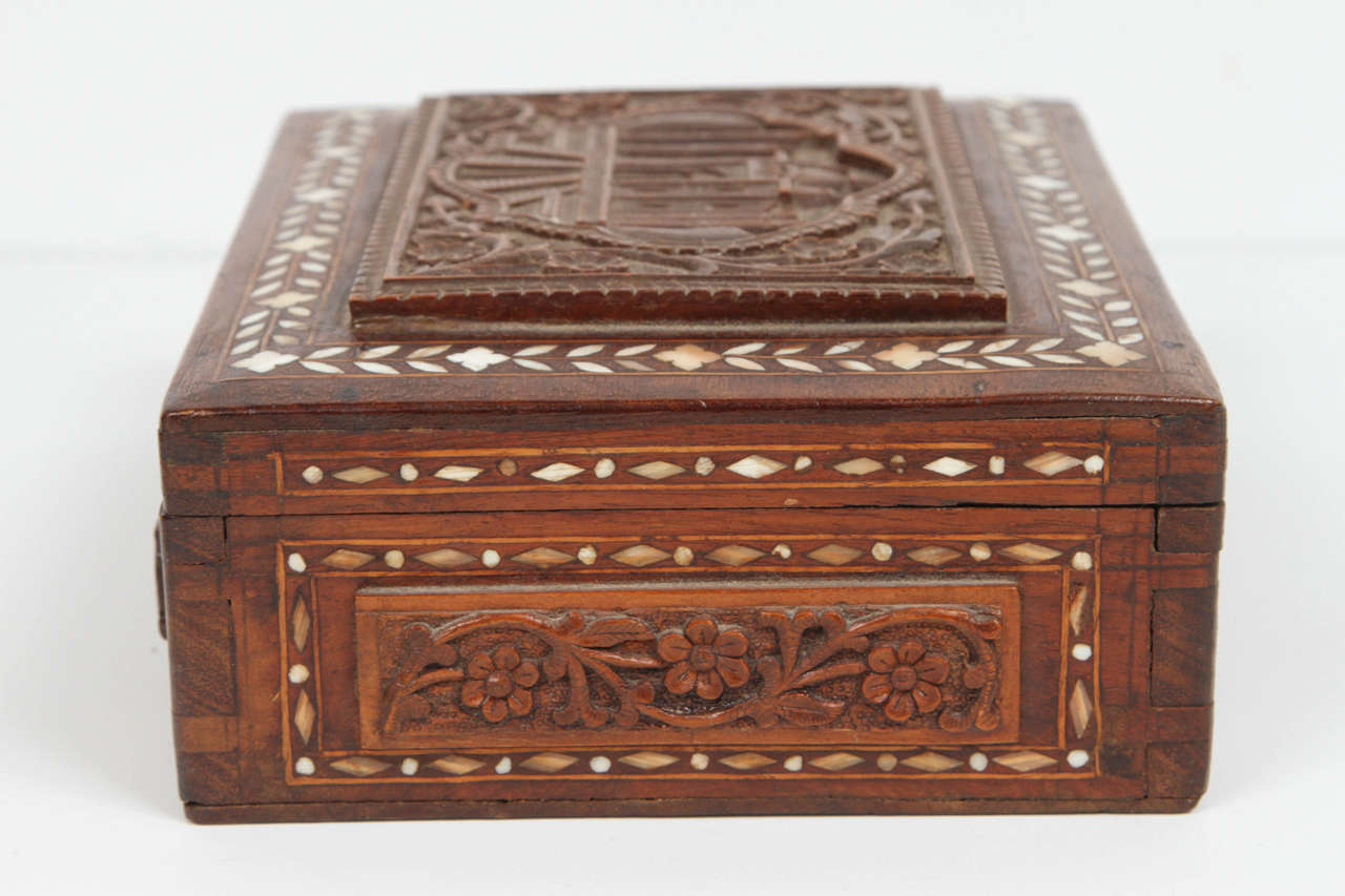 19th Century Anglo-Indian Box For Sale 2