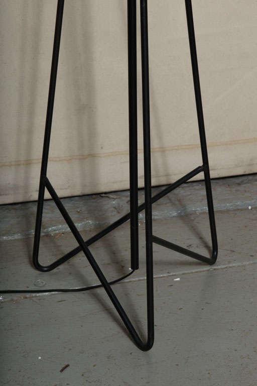 Mid Century Iron Patio Chairs: Mid Century Wrought Iron Floor Lamp At 1stdibs