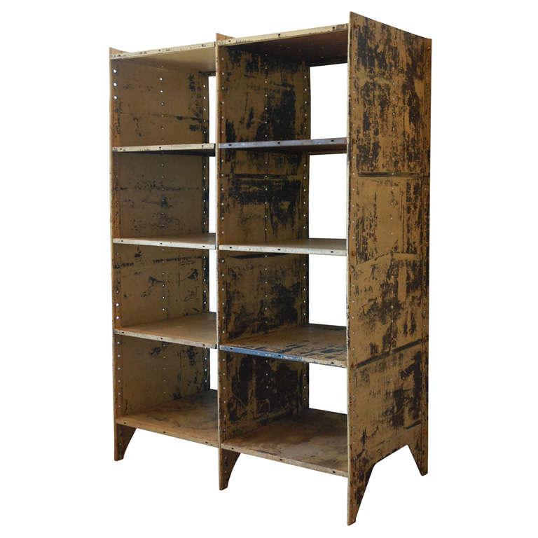 antique demilune cabinet