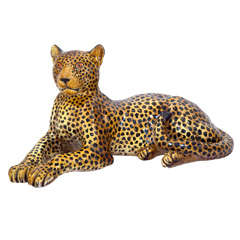Large Art Deco Leopard