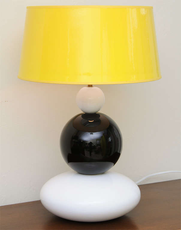 Fun Op To Pop Memphis Style Table Lamp At 1stdibs