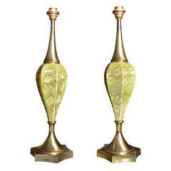 1940s Ceramic Lamps