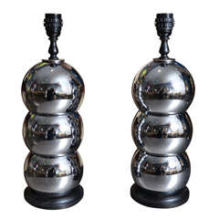 Pair of Space Age Table Lamps