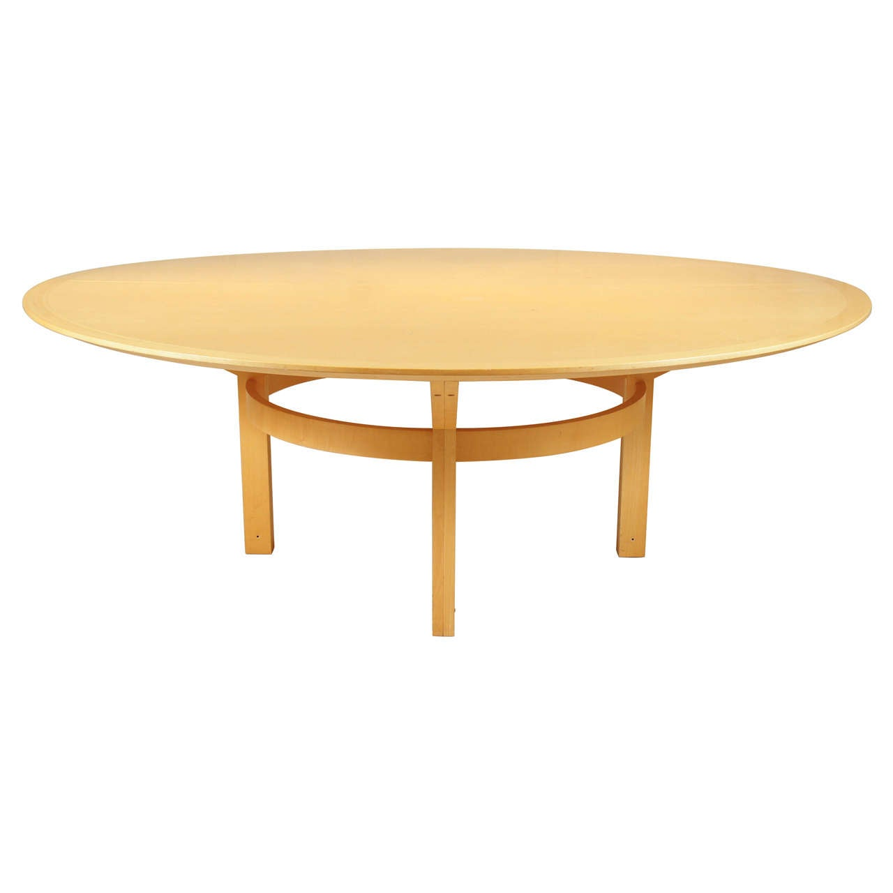 Large Round Dining Table By Rudd Thygesen And Johnny
