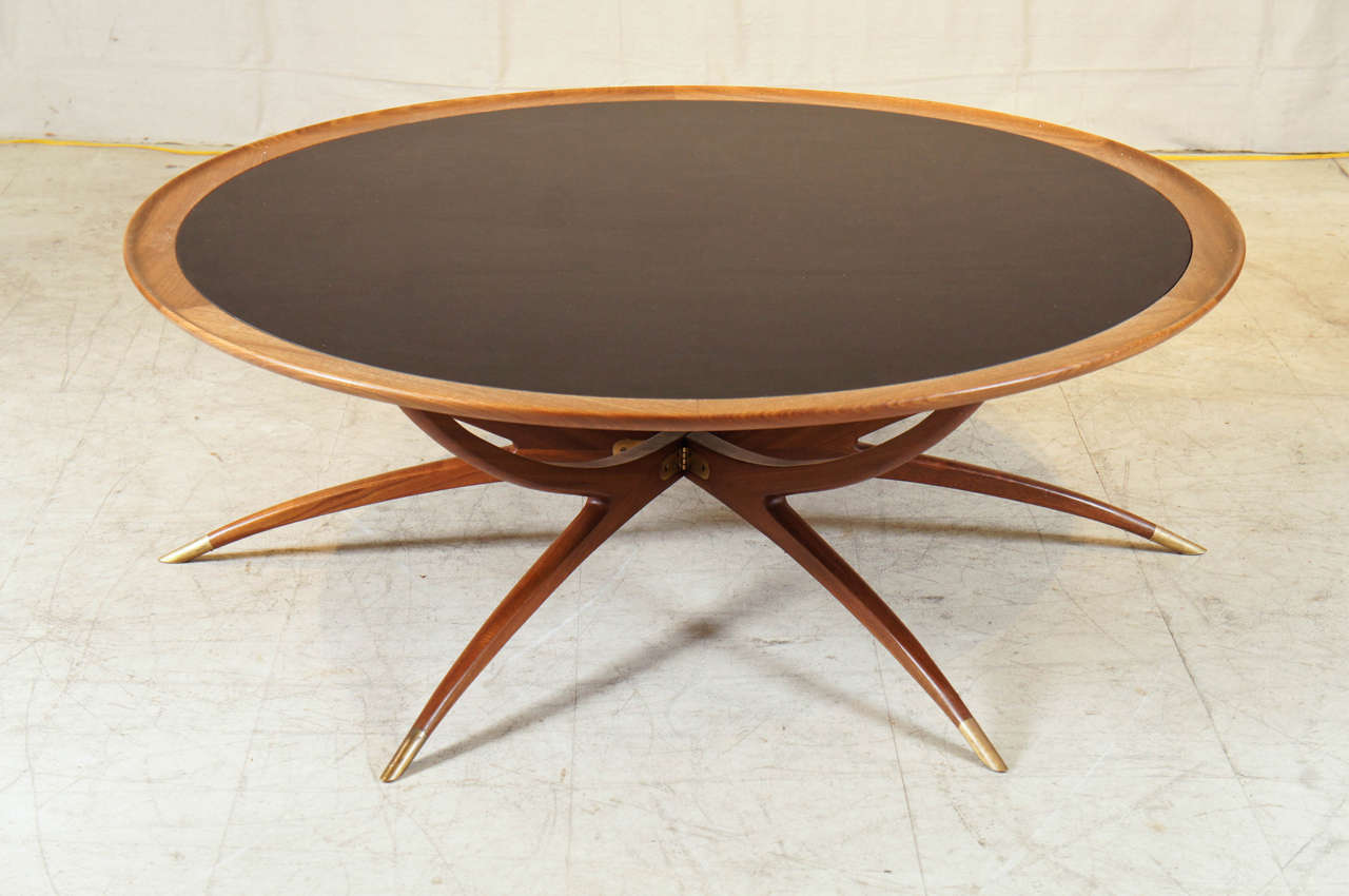 Danish Modern Spider Leg Coffee Table At 1stdibs