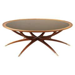 Danish Modern Spider Leg Coffee Table