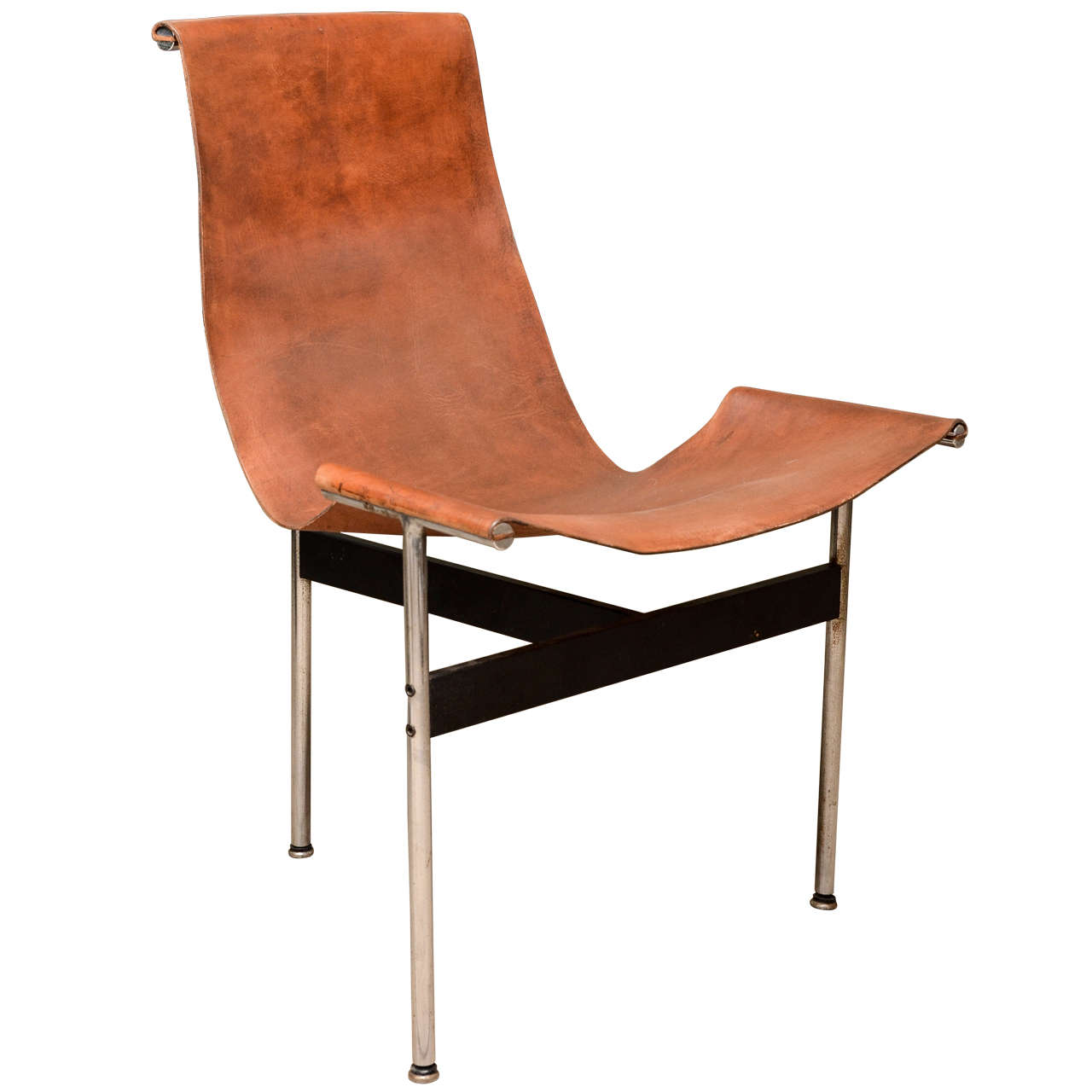 Leather sling chair - Katavolos Leather Sling T Chair 1