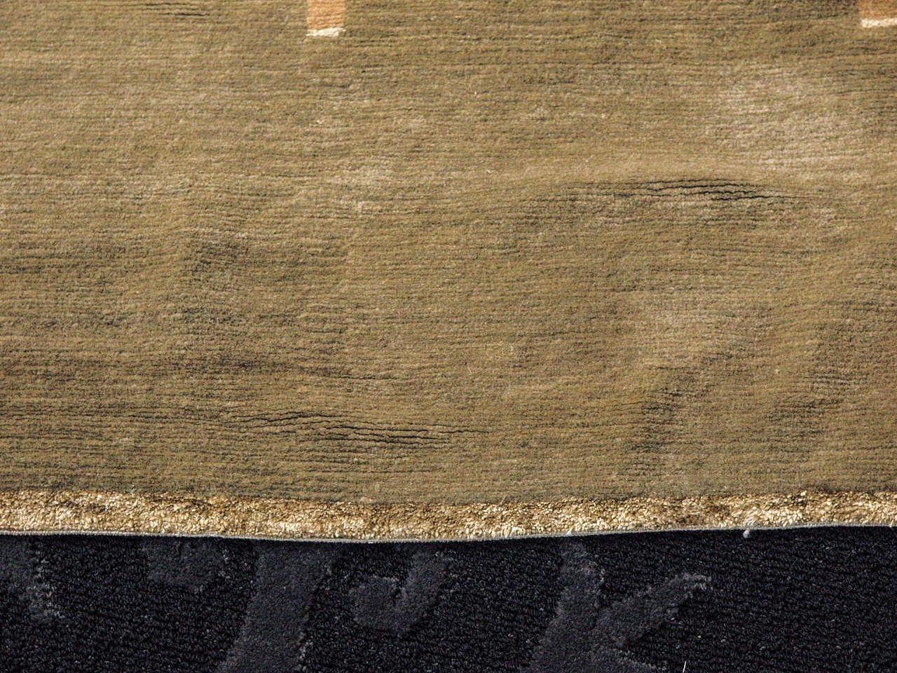 Elegant Handknottted Tufenkian Tibetan Rug (9' x 11') 5