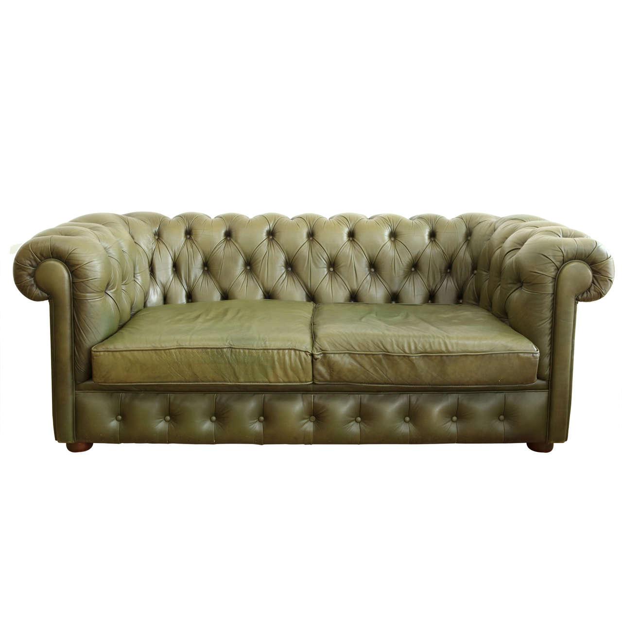 Furniture Johor Bahru Leather Sofa: Leather Chesterfield Sofa At 1stdibs