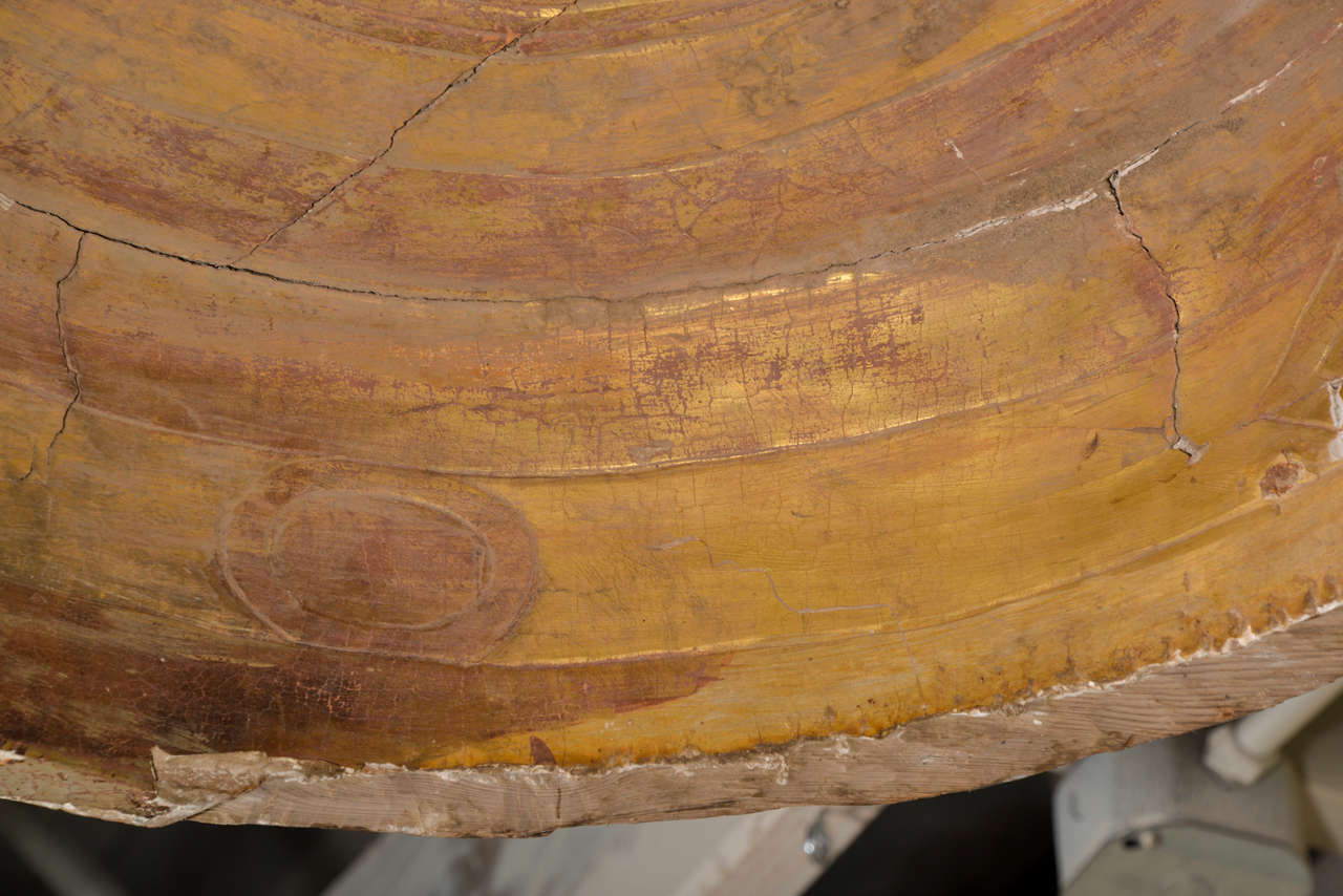 Wood Large Italian Bed Canopy 'Corona' For Sale