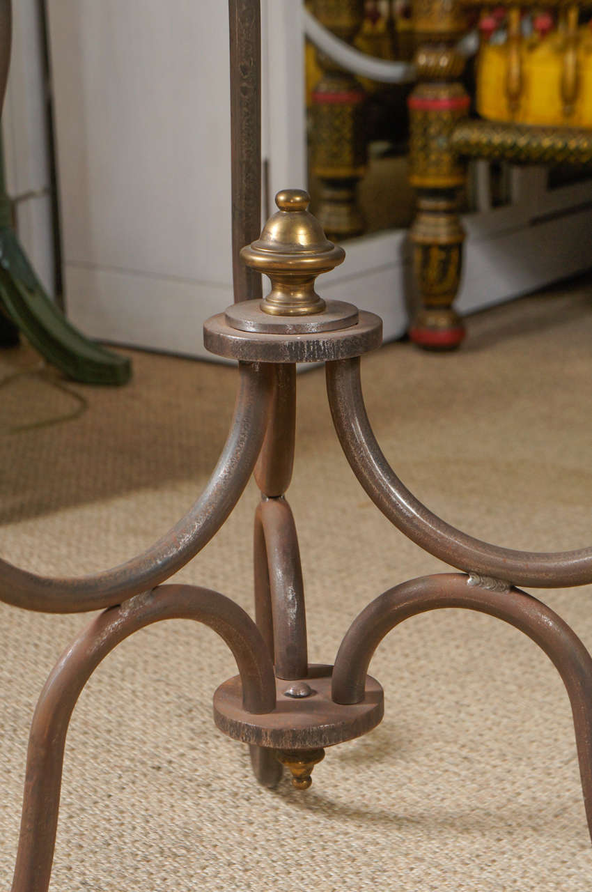 Scroll Iron End Table 4