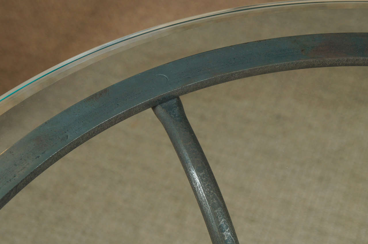Scroll Iron End Table 8