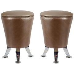 Pair of 1970s Stools