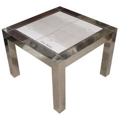 Pierre Cardin Ceramic-Top Table
