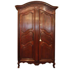 Exeptional 18th Century French Walnut Armoire