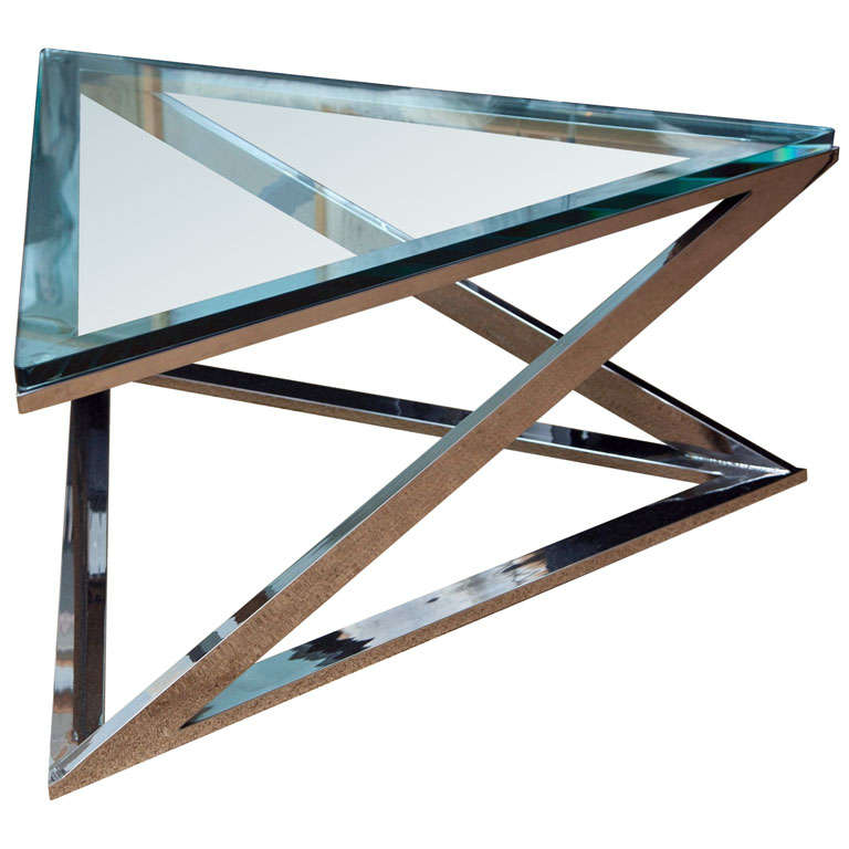 Zographos Triangle Coffee Table At 1stdibs
