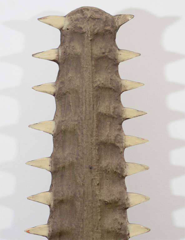 Mid-Century Modern Sawtooth Mounted on Lucite For Sale