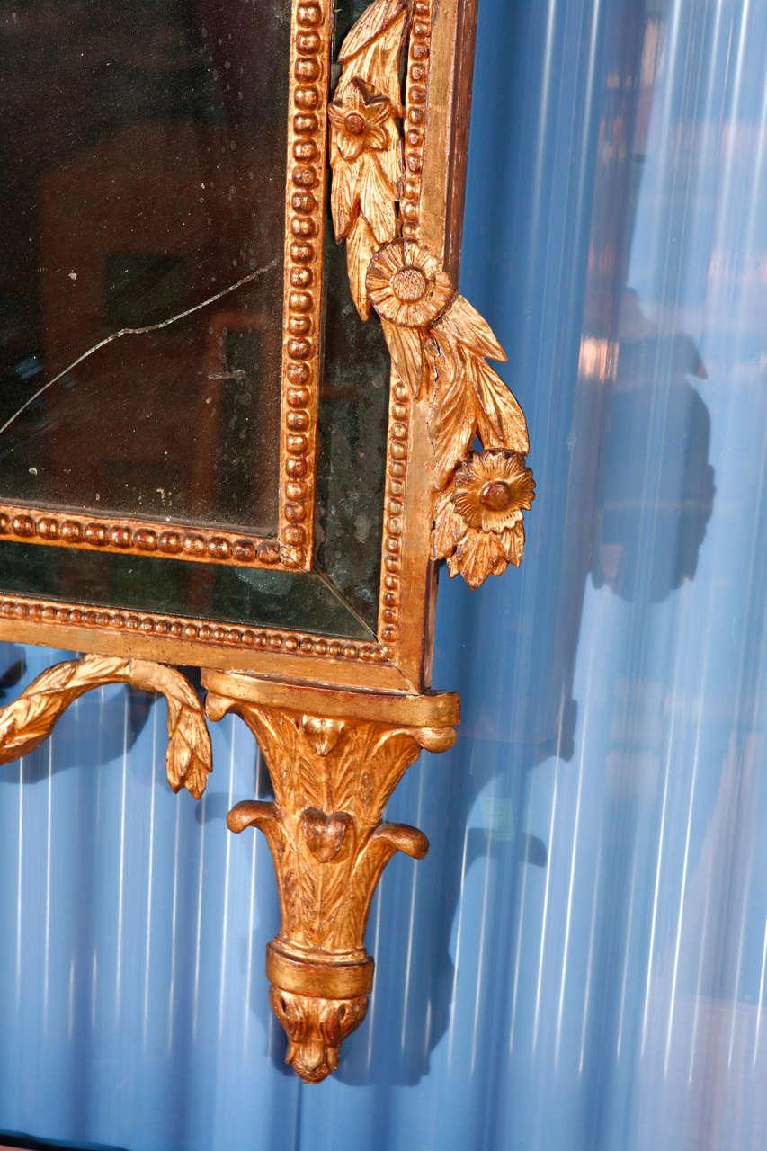 Italian Neoclassical Mirror For Sale