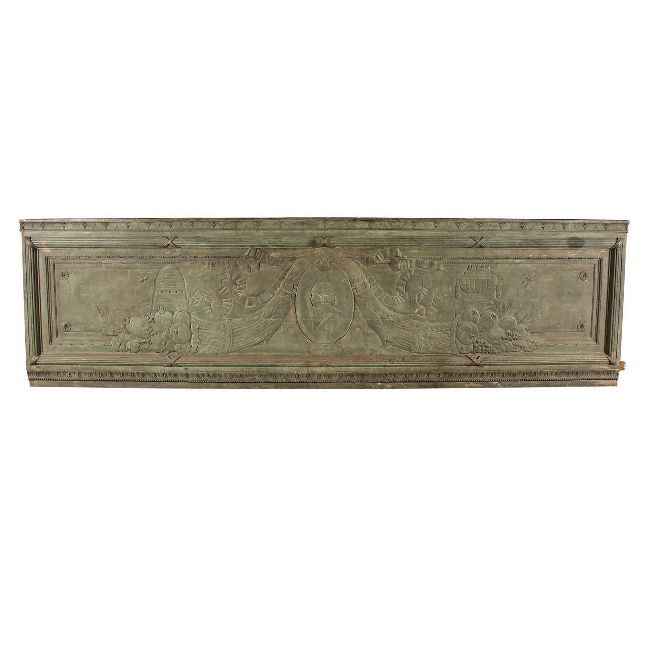 Large Bronze Architectural Plaque from New York City