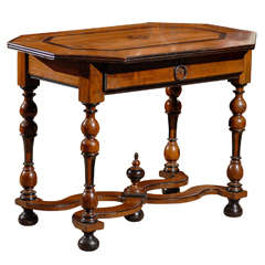 18th Century French Louis XIII Style Walnut Table