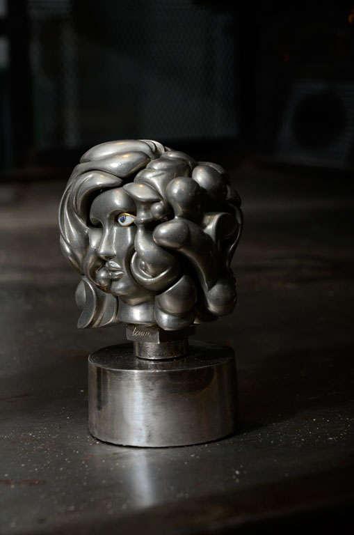 Nickel Miguel Berrocal Puzzle Sculptures For Sale