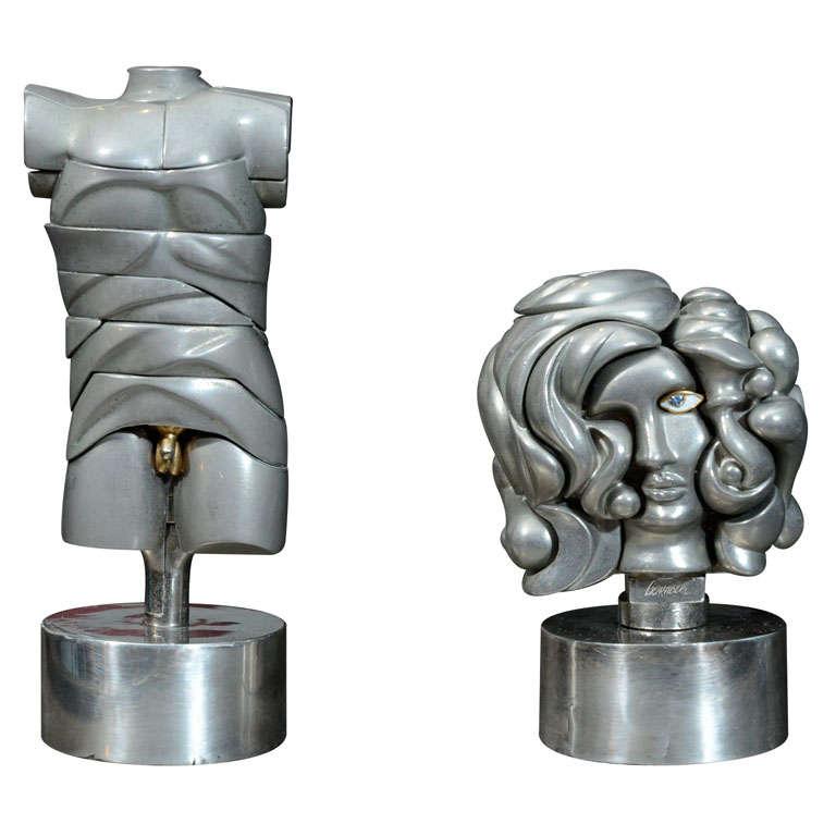 Miguel Berrocal Puzzle Sculptures For Sale
