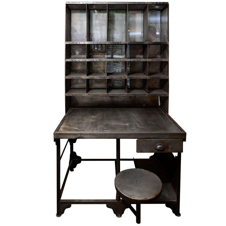 Antique Furniture Suppliers Mail: French Mail Sorter Desk At 1stdibs