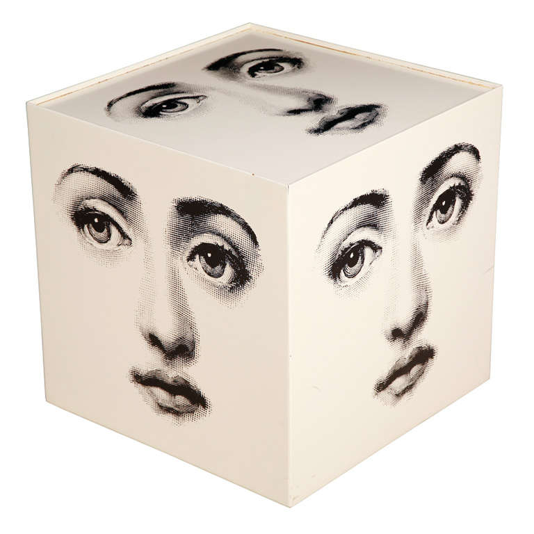 A rare cube table base by piero fornasetti at 1stdibs - Cube table basse ...