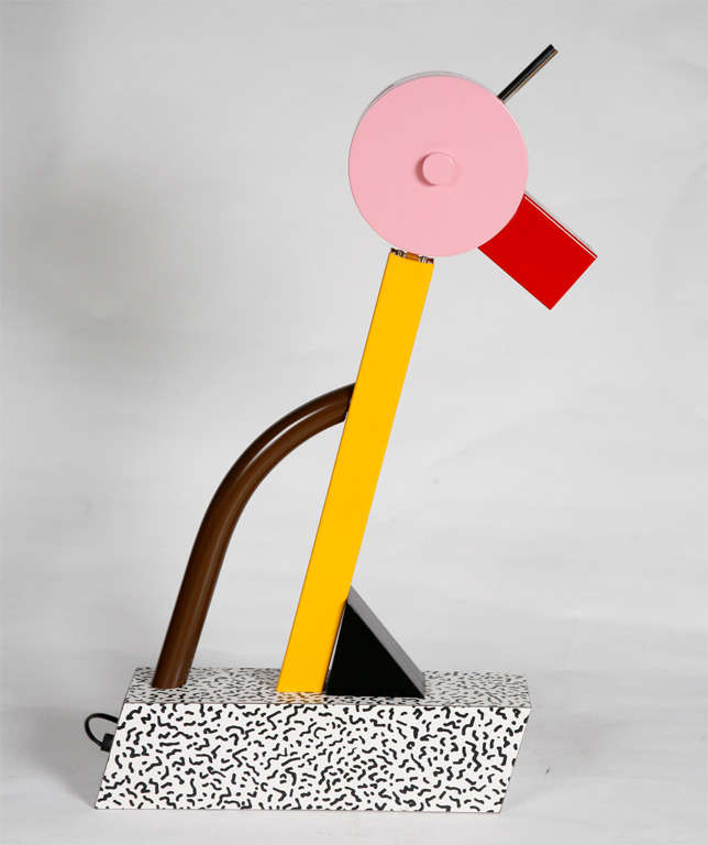"A ""Tahiti"" Lamp by Ettore Sottsass for Memphis. 2"