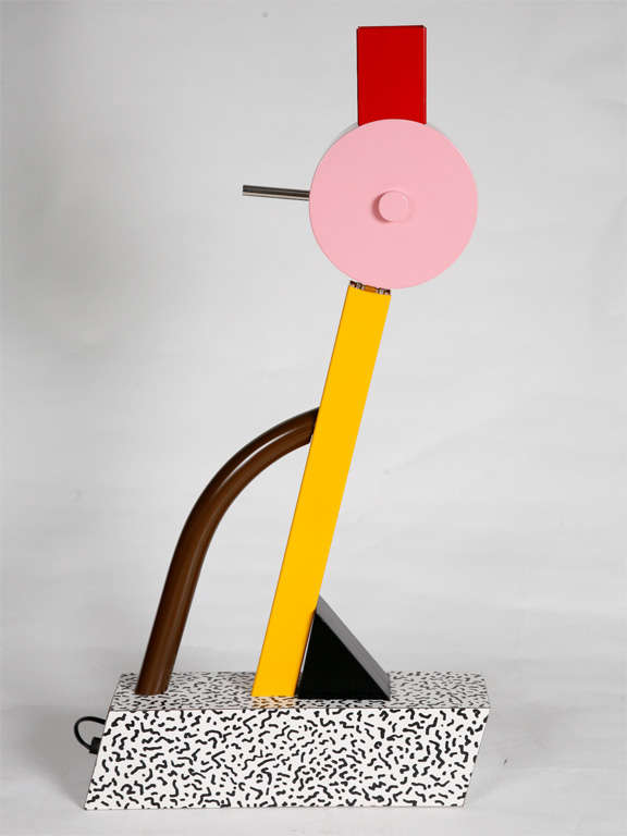 "A ""Tahiti"" Lamp by Ettore Sottsass for Memphis. 5"