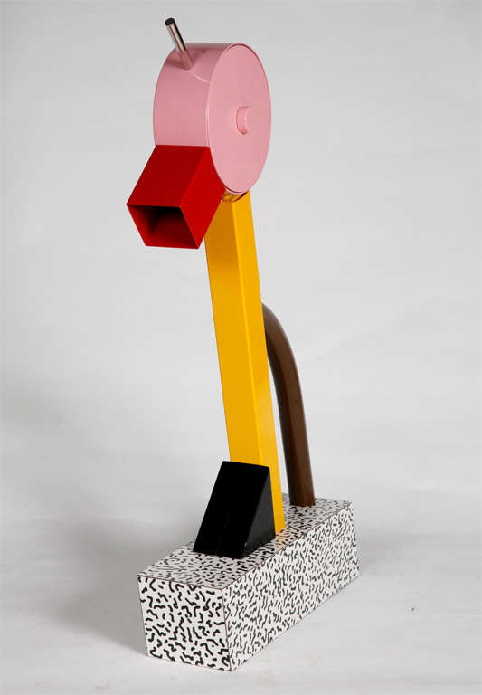 "A ""Tahiti"" Lamp by Ettore Sottsass for Memphis. 7"