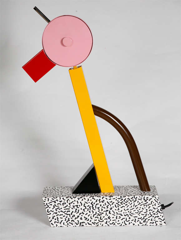 "A ""Tahiti"" Lamp by Ettore Sottsass for Memphis. 8"