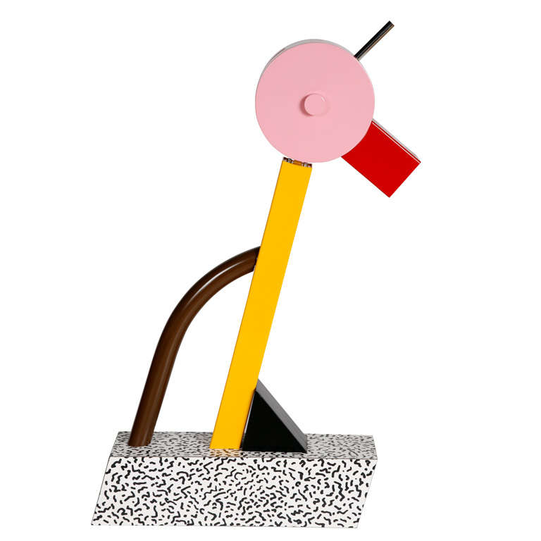 "A ""Tahiti"" Lamp by Ettore Sottsass for Memphis. 1"