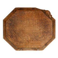 A Robert Mouseman Thompson Oak Chopping Board