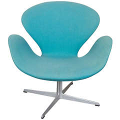 Swan Chair by Arne Jacobsen, All Original