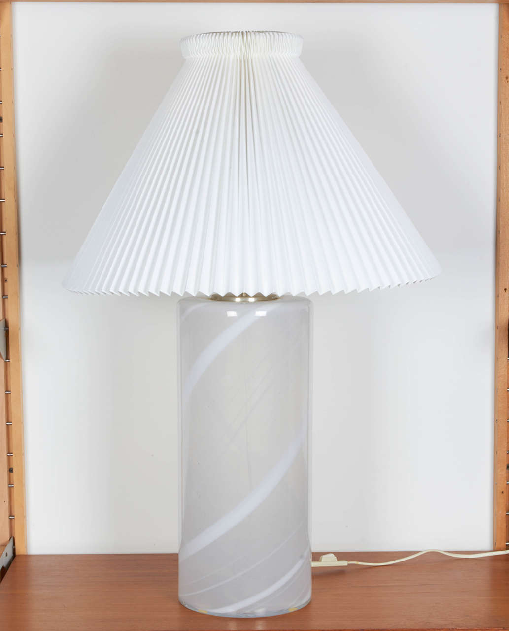 Danish Blown Glass Table Lamp 2