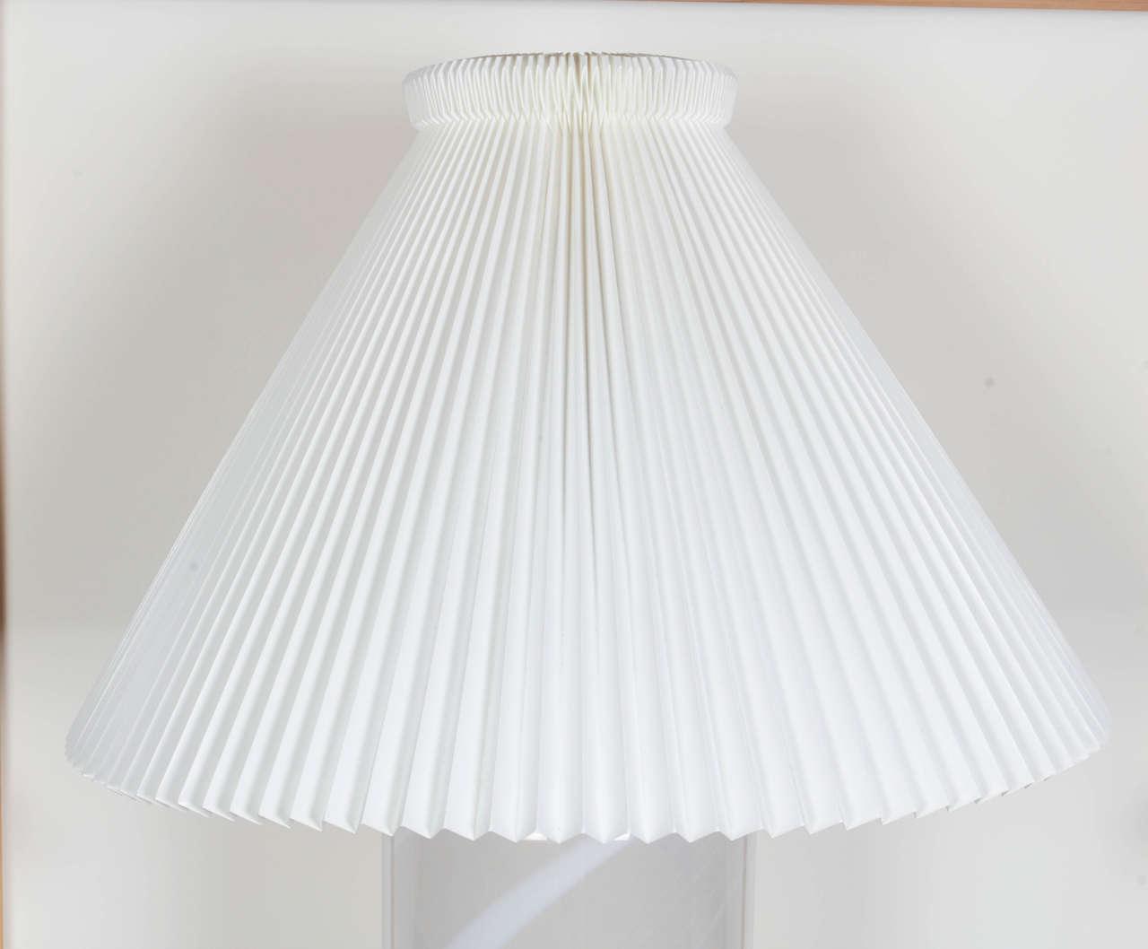 Danish Blown Glass Table Lamp 4