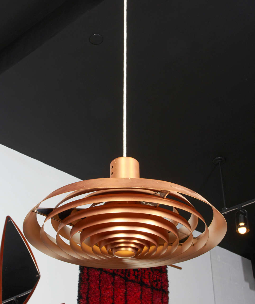 Pavillion Pendant Lamp in Copper by Poul Henningsen 2